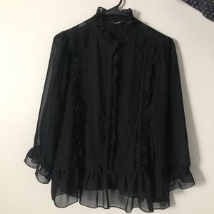 Black blouse Only Size 42